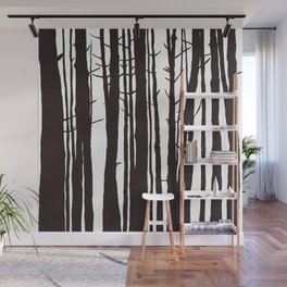 The Trees and The Forest Wall Mural