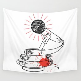 Microsnake Wall Tapestry