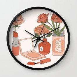 Girl Gang Essentials Wall Clock