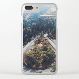 Rowena Crest Clear iPhone Case