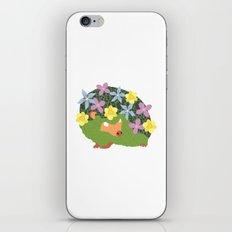 Spring Hedgehog iPhone & iPod Skin