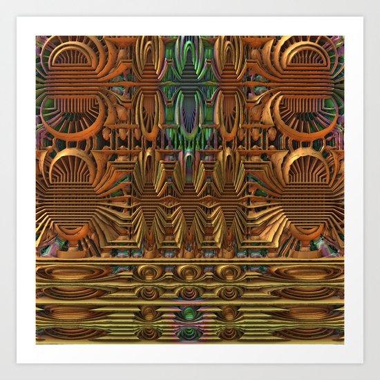 Radiator Art Print