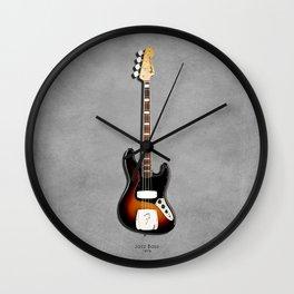 The Jazz Bass 1974 Wall Clock