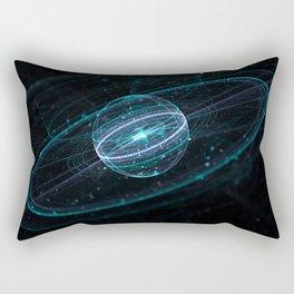 Space & Particles - GodEye 01 Rectangular Pillow