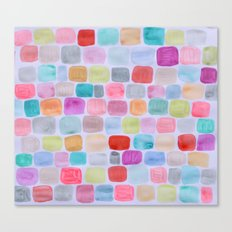 Palette Squares Canvas Print