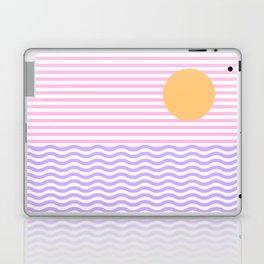 Coastline (Sunset Pink) Laptop & iPad Skin