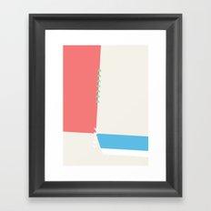Slice Dice 04 Framed Art Print