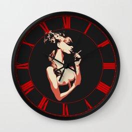 Sex & Cigarette Wall Clock