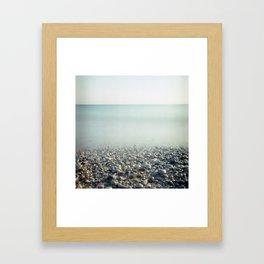 Ice Age. Analog. Film photography Framed Art Print