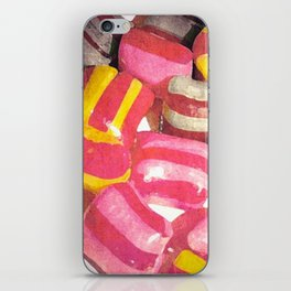 RETRO COLOURED CANDY iPhone Skin