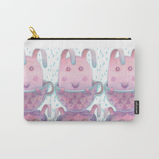 Head in a cup Carry-All Pouch