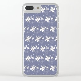 Spring Floral Pattern 2 Clear iPhone Case