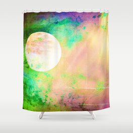 Moon Goddess Celebrated Shower Curtain