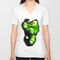 hulk V-neck T-shirts featuring Hulk by Juliana Rojas | Puchu
