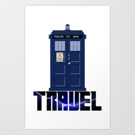 Doctor Travel Art Print