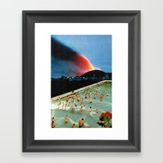 Quantum Leap Space Framed Art Print