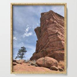 Big Tree Bigger Rock Serving Tray
