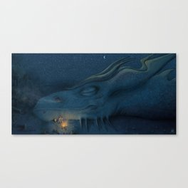 In League with Dragons #3 Canvas Print
