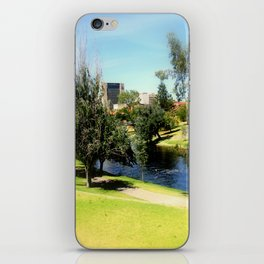 Adelaide Torrens River and CBD iPhone Skin