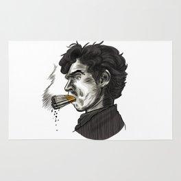 London Smoking Habit Rug