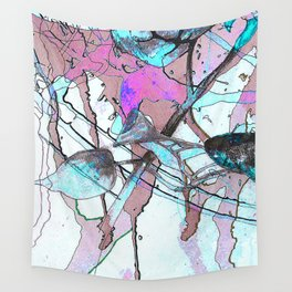 Abstract Flower No 1 Wall Tapestry
