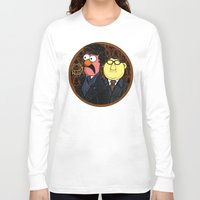 221b Long Sleeve T-shirts featuring 221b Beaker Street by Onebluebird
