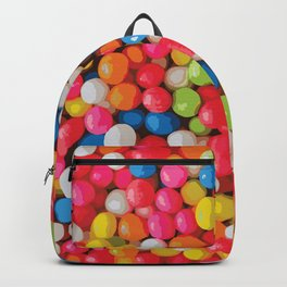 Kitschy Gumball Candy Pattern Backpack