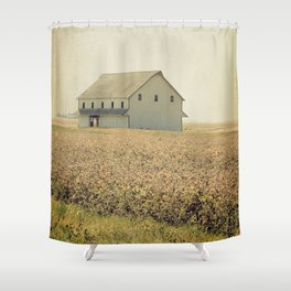 Lost in the prairie Shower Curtain