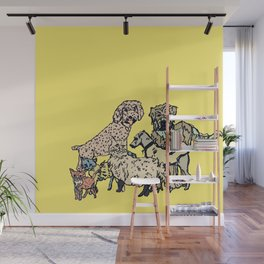Pet Family Photoshoot Wall Mural