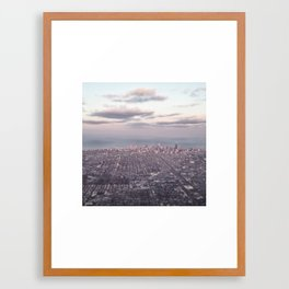 Chicago at Dawn Framed Art Print