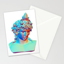 Bust of Antinous as Dionysus Stationery Cards