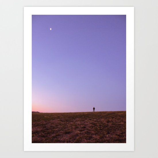 On Top of our World Art Print
