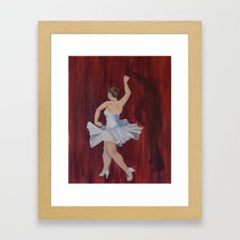 Dancing with Shadows 2 Framed Art Print