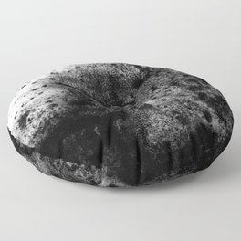 The Sherry / Charcoal + Water Floor Pillow