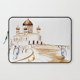 Two wisemen painting a brand new world Laptop Sleeve