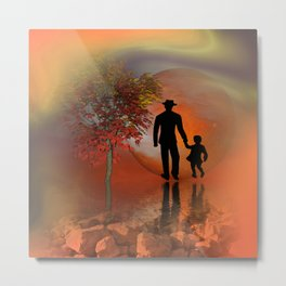 sky is on fire and I must go -2- Metal Print