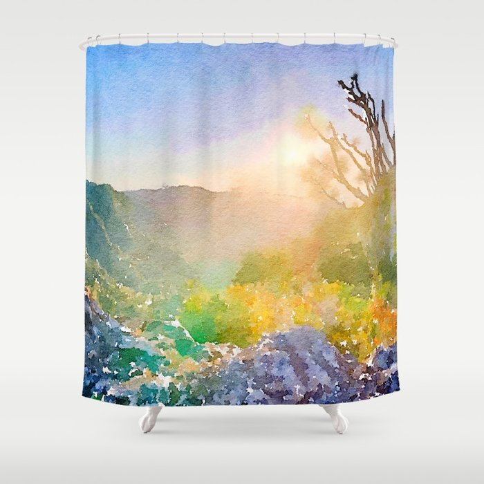 View Shower Curtain