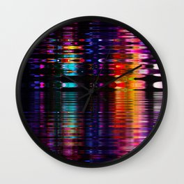 relfection b Wall Clock