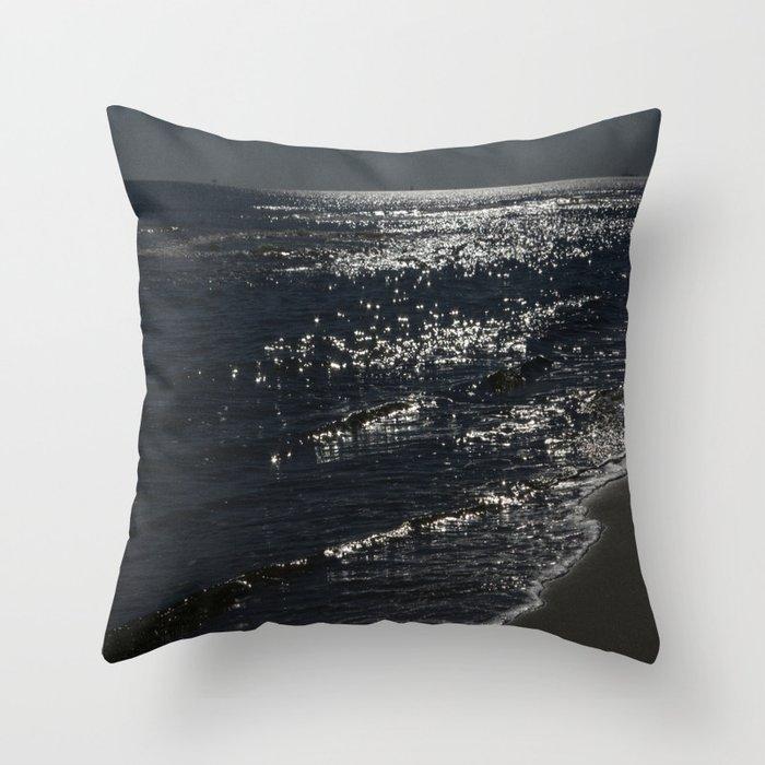 Ocean Sparkles Throw Pillow