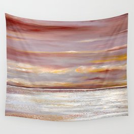 Ferry Boat View Wall Tapestry
