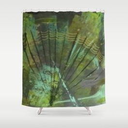 Quiet of the Deep Shower Curtain