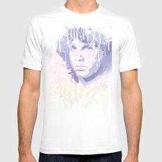 The Lizard King Mens Fitted Tee White SMALL
