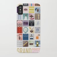 the grand budapest hotel iPhone & iPod Cases featuring The Grand Budapest Hotel by Giulia Brolese