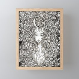 Dryad - Speaker of trees Framed Mini Art Print