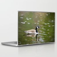 canada Laptop & iPad Skins featuring Canada Goose by Christina Rollo