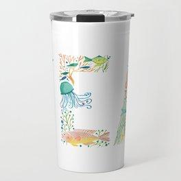 SEA - White Travel Mug