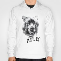 marley Hoodies featuring Marley by Megan Barr