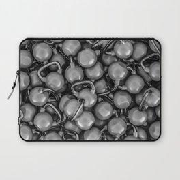 Kettlebells B&W Laptop Sleeve