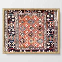 Shirvan East Caucasus Rug Print Serving Tray