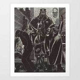 April by Fritz Eichenberg Art Print